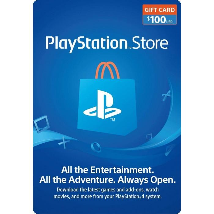 $100 PlayStation US Store Gift Card [Digital Code]  - PSN